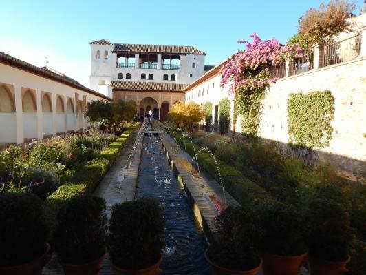 Gartenanlage Alhambra Granada