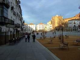 Hauptplatz in Caceres