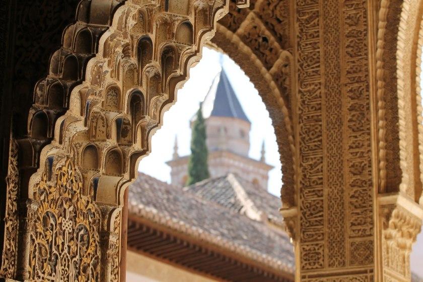 Alhambra Detail Granada Urlaub