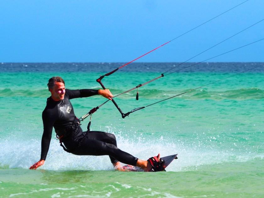 Kitesurfer Fuerteventura