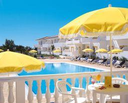Pool und Liegestühle Appartements Vilabranca Algarve