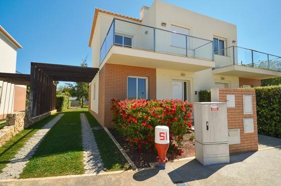 Außenansicht Villas Mourim Algarve