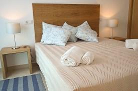 Bett im Villas Mourim Algarve