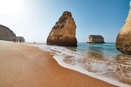 Felsen am Strand Algarve