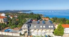 Außenansicht mit Blick aufs Meer Hotel Bosque Mar