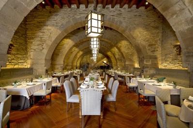 Restaurant im Parador de Santiago de Compostela