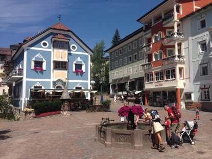 Marktplatz Sankt Ulrich am Adler Dolomiti Spa & Sport Resort