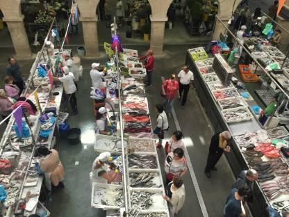 Galicien Pontevedra Markt Fischmarkt