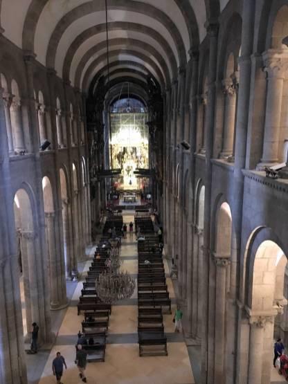 Galicien Santiago Kathedrale Innenraum