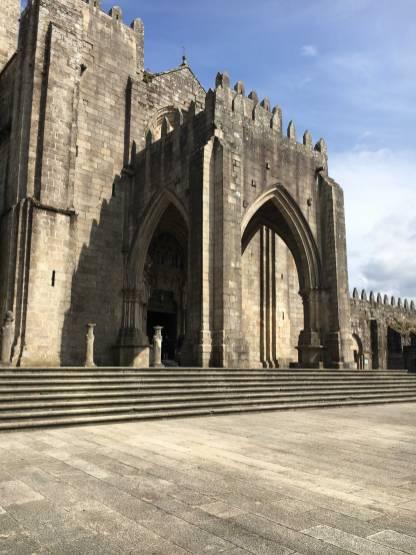 Galicien Tui Kirche