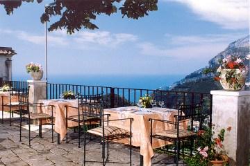 Terrasse Villa Maria Amalfiküste