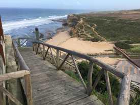 Portugiesischer Jakobsweg Küstenblick Portugal Ericeira