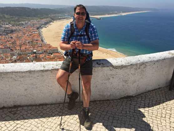 Ausblick Nazaré Aussichtspunkt Wanderung
