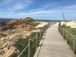 Holzpfad Portugiesischer Jakobsweg Küste