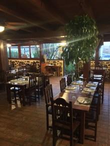 Restaurant mit gedeckten Tischen Hotel Mahoh Fuerteventura