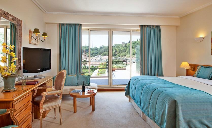 Zimmer mit Burgblick Hotel dos Templários Tomar