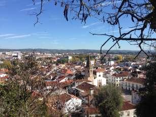 Blick auf Altstadt von Tomar
