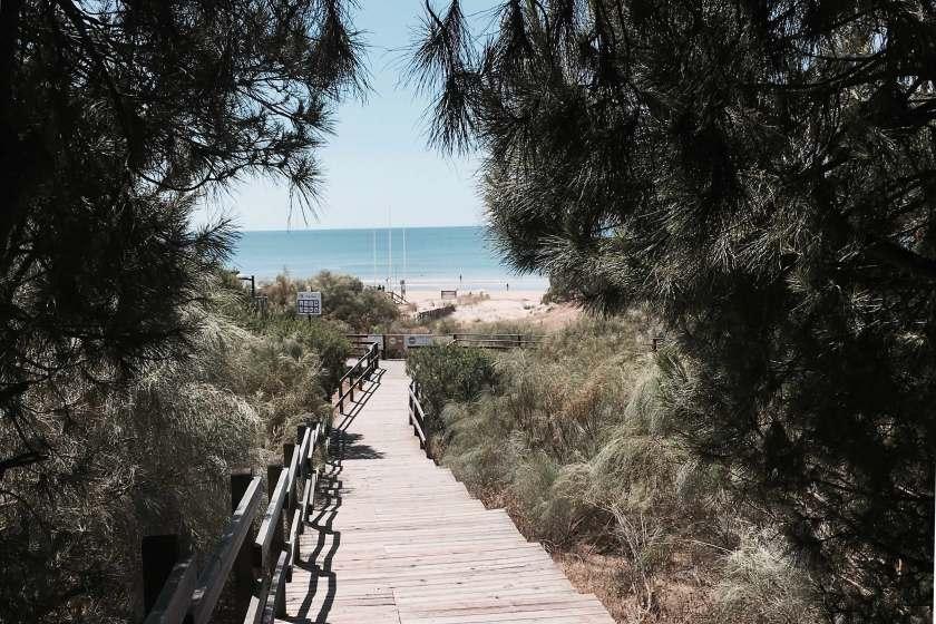 Weg zum Strand Algarve