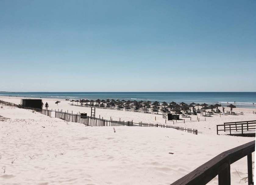 Strand Praia Verde Algarve