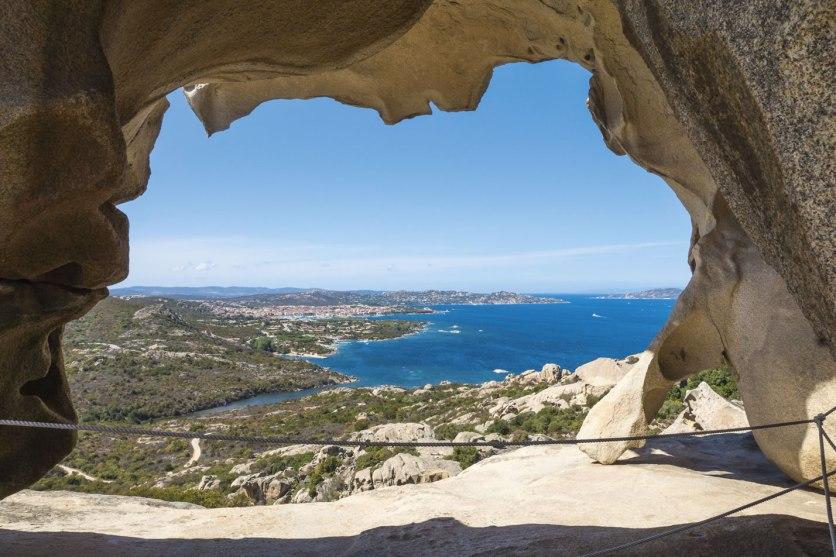 Ausblick Capo d'Orso Nordsardinien