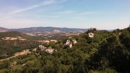 Gallura Landschaft aus Trenino Verde
