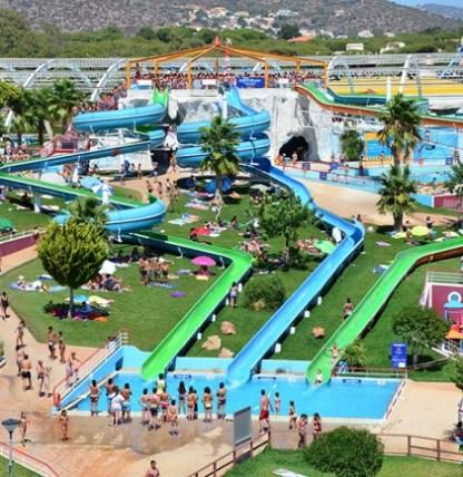 Rutschen Aquashow Park Algarve