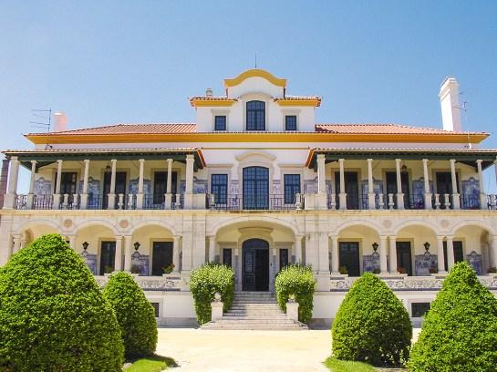 Palácio de Rio Frio Fassade