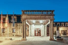 Eingang Parador de Gredos