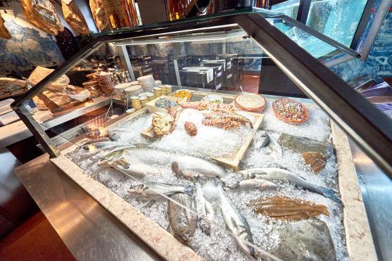 Fisch Vitrine Lissabon