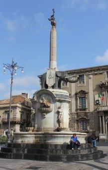 Elefantenbrunnen in Catania