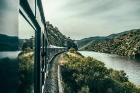 Presidential Train im Dourotal
