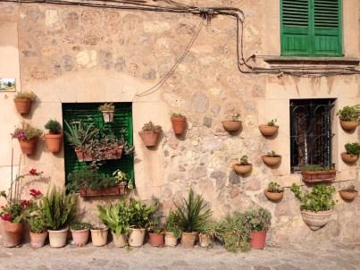 Hausfassade in Valldemossa