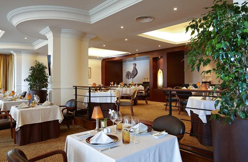 Il Gallo d'Oro im Restaurant The Cliff Bay