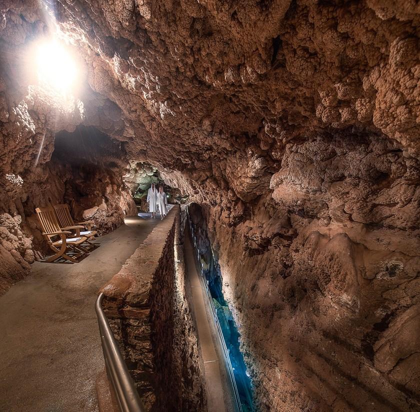 Natürlicher Spa Grotta Giusti