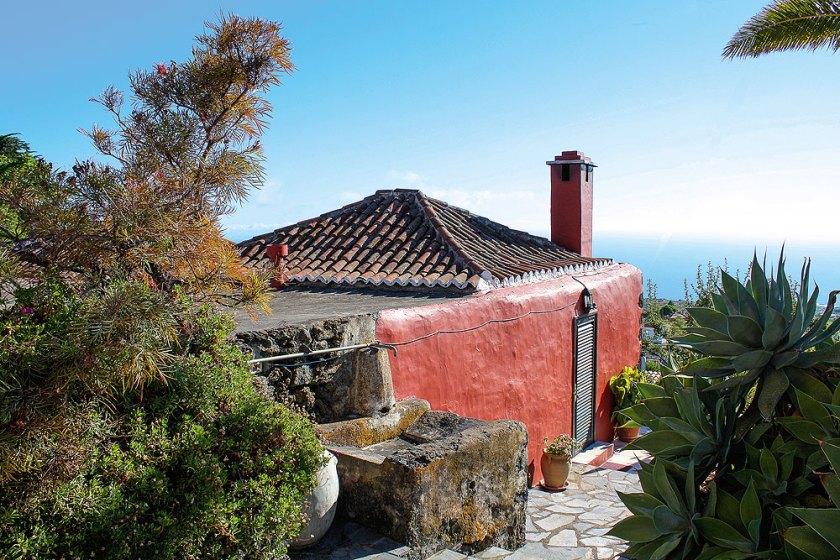 Ausblick Almendra La Palma