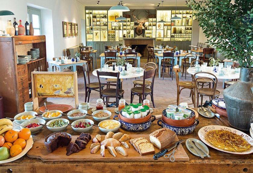 Frühstücksbuffet São Lourenço do Barrocal