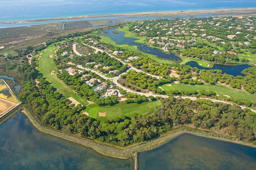 Golfplatz San Lorenzo Luftbild