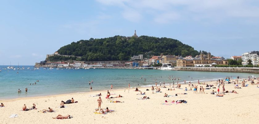Strand Donostia San Sebastian