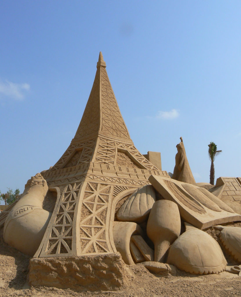 Eiffelturm Sandcity Algarve