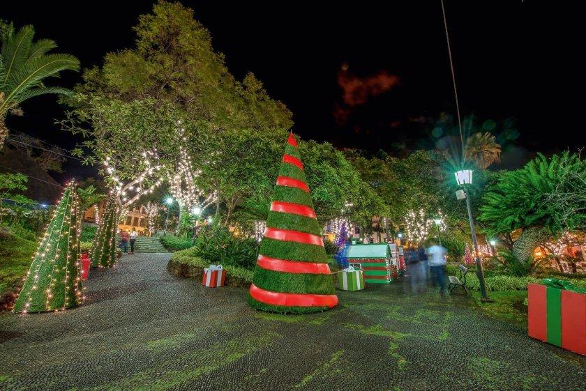 Weihnachtsmarkt Madeira Funchal