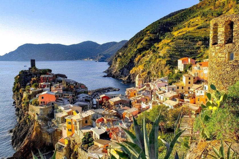 Dorf von Cinque Terre