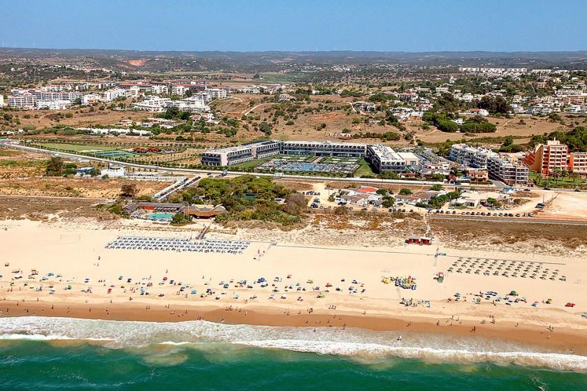 Meia Praia und Hotel Vila Galé Lagos