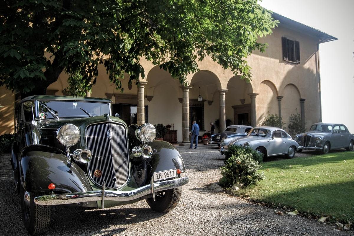 Villa il Poggiale Italien Oldtimer
