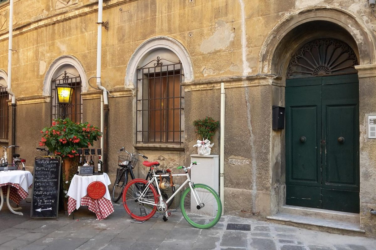 Italien Pisa Fahrrad
