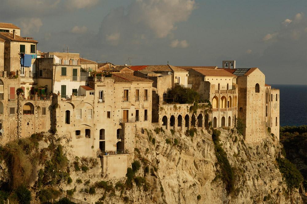 Italien Tropea Altstadt