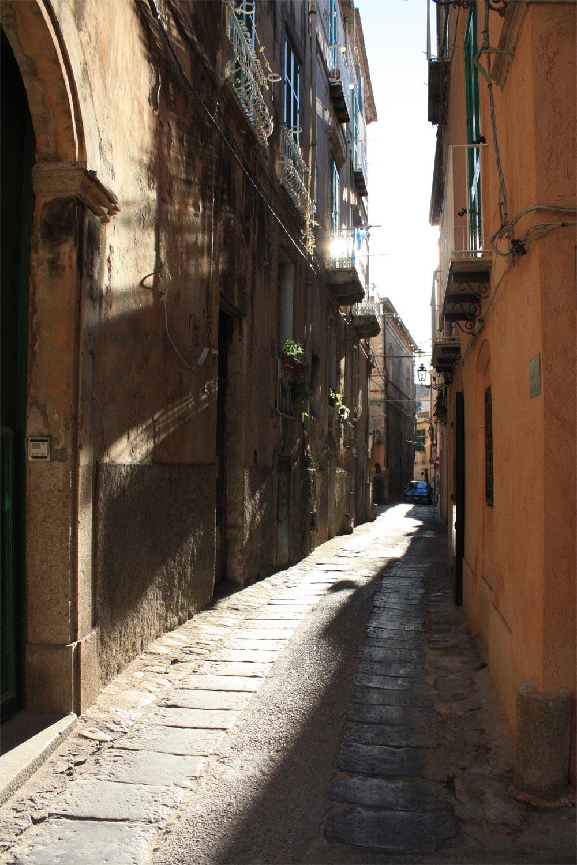 Italien Tropea Altstadt Gasse
