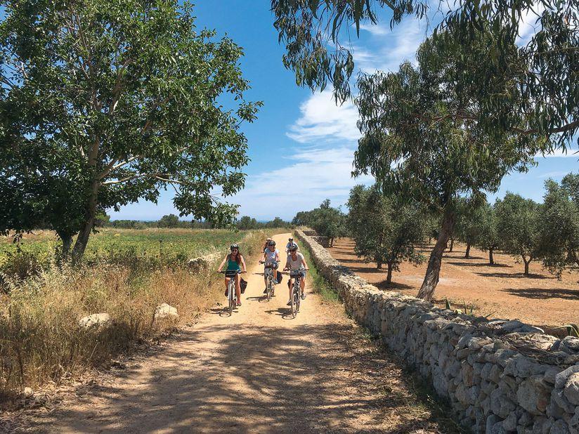 Familienbike-Tour Salento