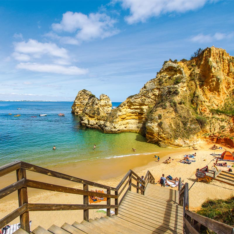Algarve Lagos Praia do Camilo