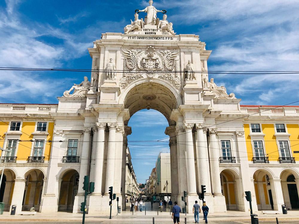 Lissabon Praça do Comércio