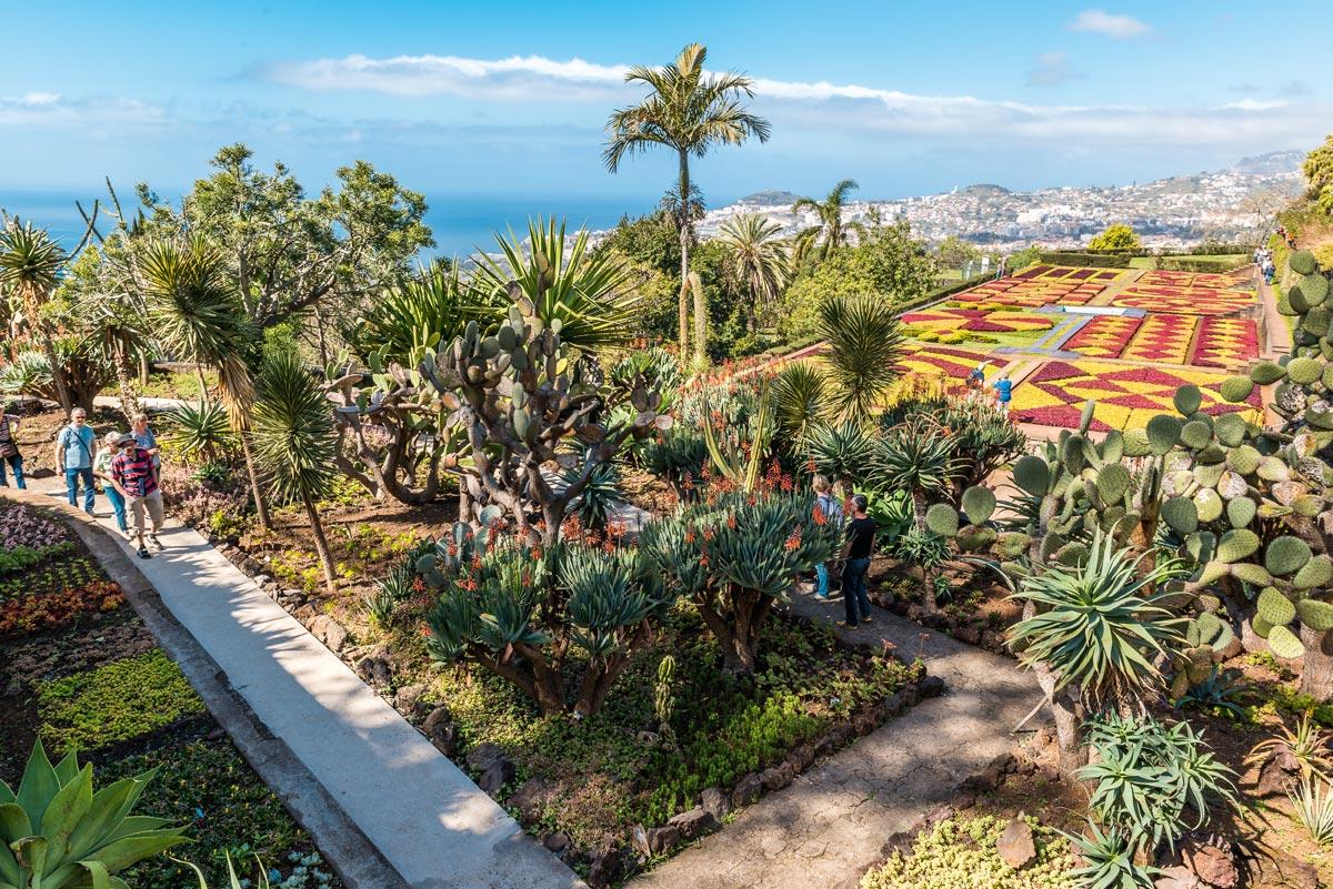 Madeira Funchal Jardim Botanico